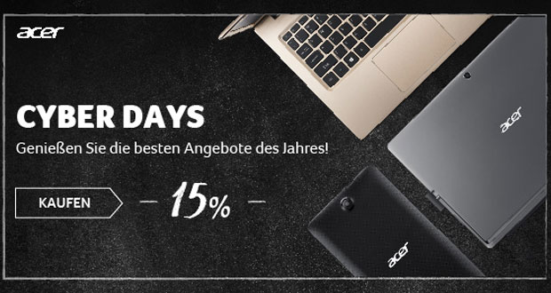 Acer Cyber Days 2017