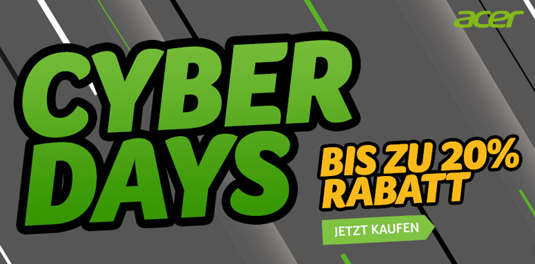 Acer Cyber Days 2019