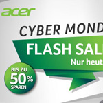 Bis zu 50% Rabatt beim großen Cyber Monday Flash Sale im Store von Acer