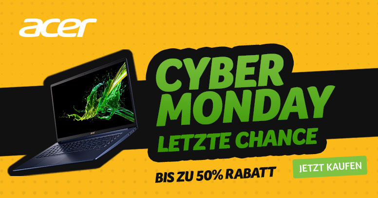 Acer Cyber Monday 2019