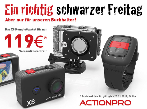 Actionpro Black Friday 2017