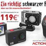 Die ACTIONPRO X8 im Komplettpaket für nur 119€!