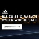 Sicher dir jetzt bis zu 65% Rabatt auf deine Lieblingsstyles beim adidas Cyber Woche Sale