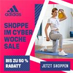adidas Cyber Woche: Bis zu 50% Rabatt auf viele Produkte