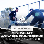 30% Rabatt beim Pre Sale von adidas