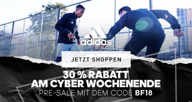 30% Rabatt beim Pre Sale von adidas | Black-Friday.de