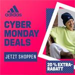 adidas Cyber Monday Deals – Jetzt 20% Extra-Rabatt sichern