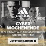 30% Rabatt beim Adidas Cyber Wochenende!