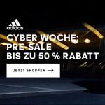 Jetzt shoppen und bis zu 50% Rabatt beim Cyber Woche Pre Sale von adidas sichern