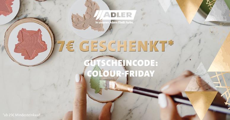 Adler Farbenmeister Black Friday 2020