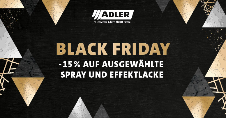Adler Farbenmeister Black Friday 2019