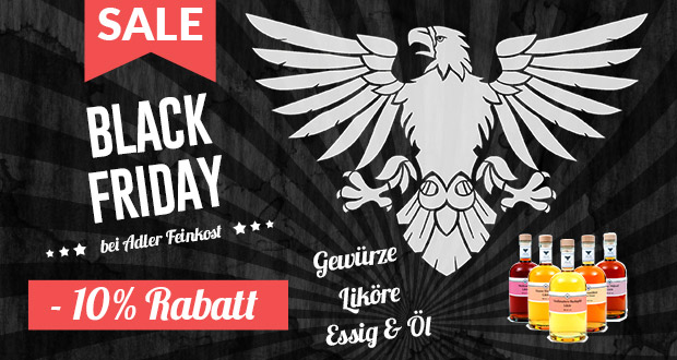 Adler Feinkost Black Friday 2017