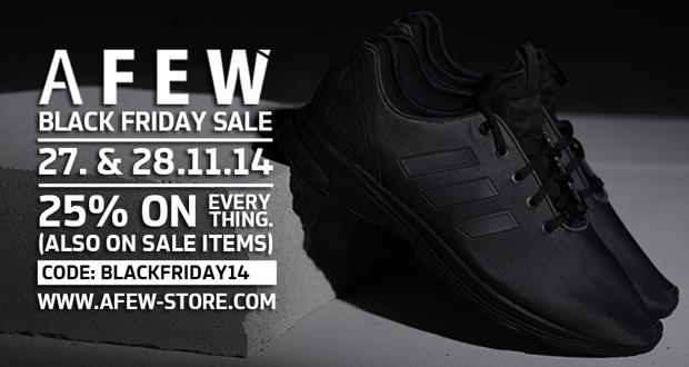 nur heute 25 preisnachlass auf alle sneakers im online shop von afew black. Black Bedroom Furniture Sets. Home Design Ideas