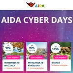 AIDA Cyber Days – Sommersaison 2019 zu sagenhaft guten Preisen