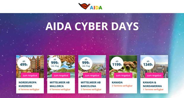 AIDA Cyber Monday 2018