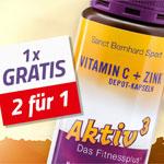 Vitamin C + Zink Depot – 2 für 1 Aktion von Aktiv3