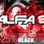 Nur heute: 25% Rabatt auf alle Alfa8 Artikel