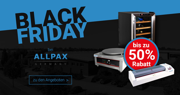 Allpax Black Friday 2017