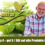 Kaufe 4 gleiche Produkte und erhalte eines Gratis dazu im Shop von Aloe Vera Welt!