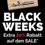 Black Weeks bei Alpenwahnsinn: Jetzt 20% Extra-Rabatt auf den Sale