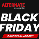 Black Friday bei Alternate – Bis zu 25% Rabatt