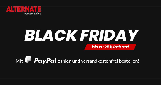 Alternate Black Friday 2018