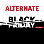 Sicher dir jetzt tolle Rabatte und kostenlose Lieferung bei den Black Friday Angeboten von Alternate