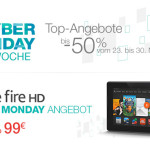 Amazon.de startet Cyber Monday Woche 2013: Das sind die Auftakt-Deals vom 23.11.