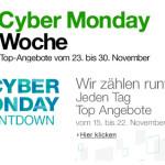 Amazon kündigt Cyber Monday Week 2013 an und startet Countdown mit ersten Deals
