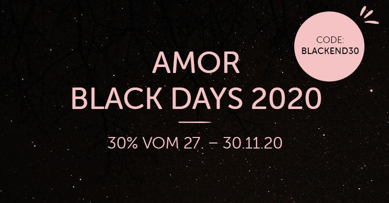 Amor Black Friday 2020