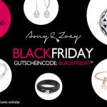 Einmalige 15 Prozent auf die gesamte Schmuck-Kollektion von Amy & Zoey am Black Friday!