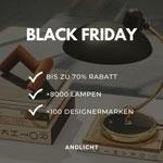 Black Friday bei AndLight: Bis zu 70% auf Designerlampen