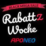 Rabattz Woche bei Aponeo – Spare bis zu 70% auf zahlreiche Produkte