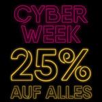 Spare 25% auf alles mit den Cyber Week Angeboten bei AppelrathCüpper