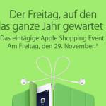 Apple bestätigt Black Friday nun auch in Deutschland: Der Freitag auf den du das ganze Jahr gewartet hast.