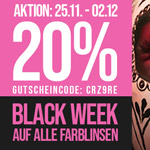 Sicher dir 20% Rabatt auf alle ARICONA Farblinsen während der Black Friday Week