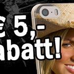 Die perfekte Geschenkidee: 5,- Euro Rabatt auf selbst gestaltete Handyhüllen von arktis.de