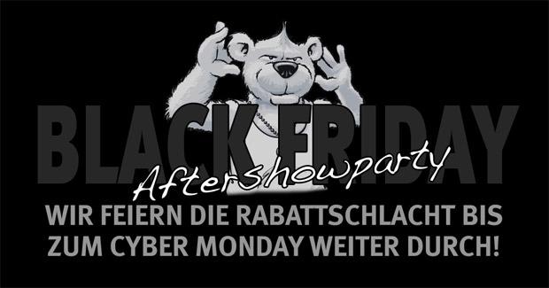 Black Friday Aftershowparty bei arktis.de: Rabatte gültig bis zum Cyber Monday