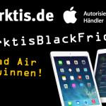 arktis.de startet Black-Friday Warm-Up mit ersten Schnäppchen und iPad Air Gewinnspiel