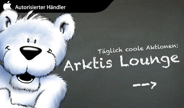 arktis.de eröffnet Lounge mit coolen Deals
