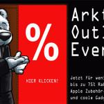 Bis zu 75% Rabatt beim arktis.de Outlet Event