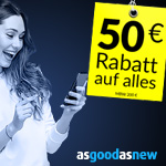 Black Friday bei Asgoodasnew mit 50 EURO Rabatt auf alles