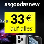 Black Weekend bei Asgoodasnew mit bis zu 50% Rabatt