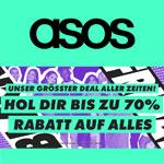 Black Friday bei ASOS – Hol dir bis zu 70% Rabatt auf alles