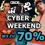 Spare bis zu 70% beim ASOS Cyber Weekend