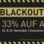 Blackout Sale bei asphaltgold – 33% Rabatt auf das komplette Sneaker-Sortiment!