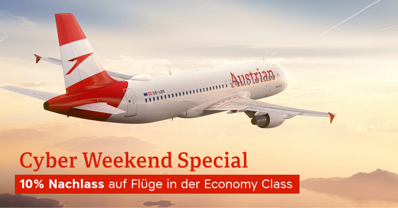 Austrian Airlines Black Friday 2020
