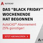 Jetzt AutoCAD abonnieren und 25% sparen!