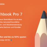 Sicher dir jetzt das aktuelle SketchBook Pro von Autodesk und spare bis zu 50%