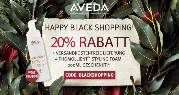 Aveda Black Friday 2018